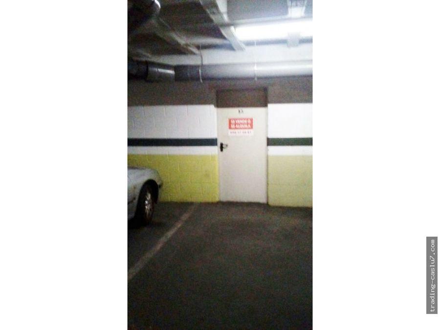 plaza de garaje avd libertad vial norte