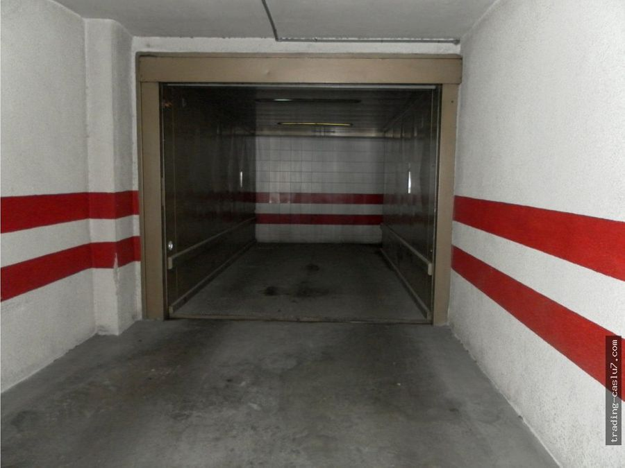 plaza de garaje zona centro