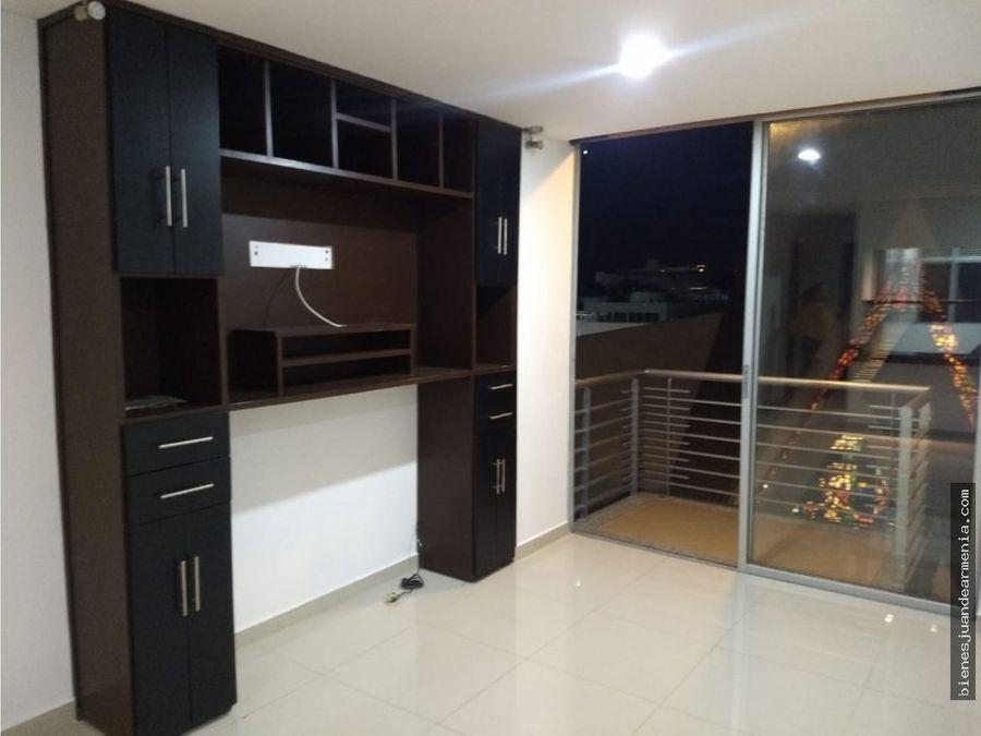 venta de apartamento sector plaza bolivar armenia
