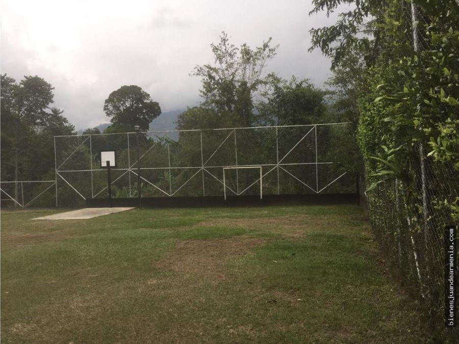 venta lote conjunto residencial bosque de la bella calarca