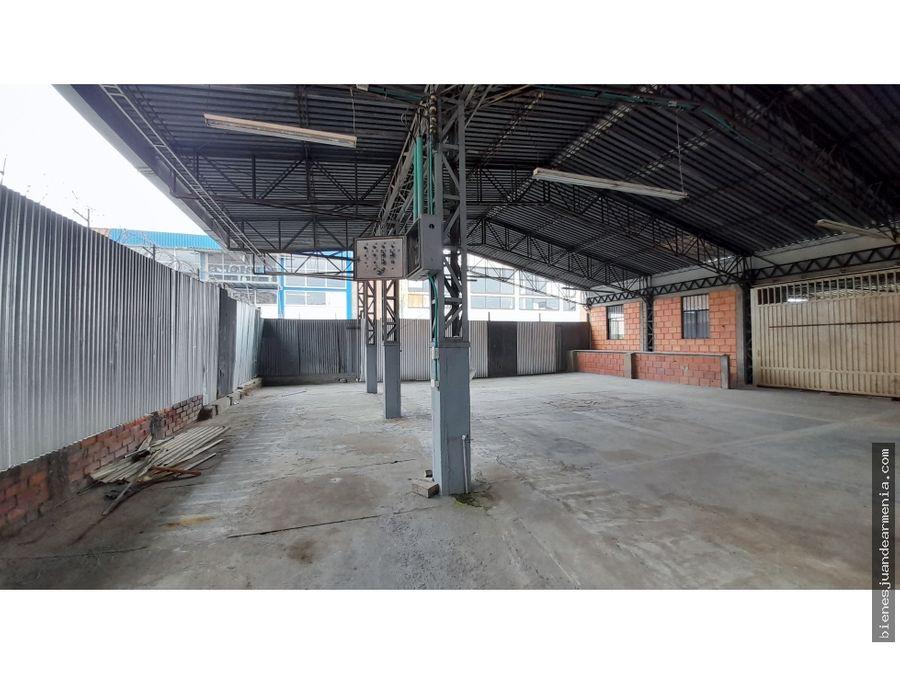 arrendamiento de bodega sector brasilia