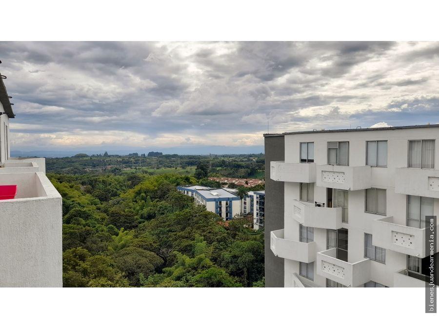 apartamento ambar norte de armenia espectacular vista