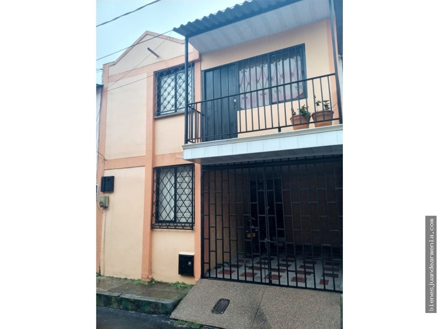 venta de casa barrio girasoles armenia