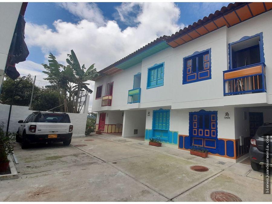 venta de casa en filandia quindio uso turistico