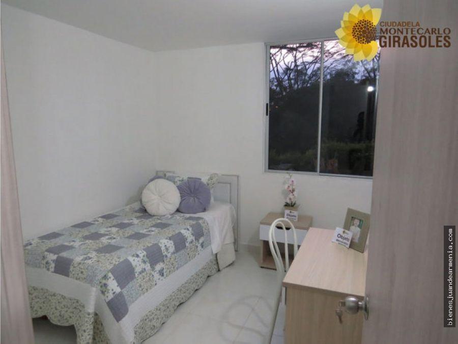 venta de apartamento montecarlo girasoles