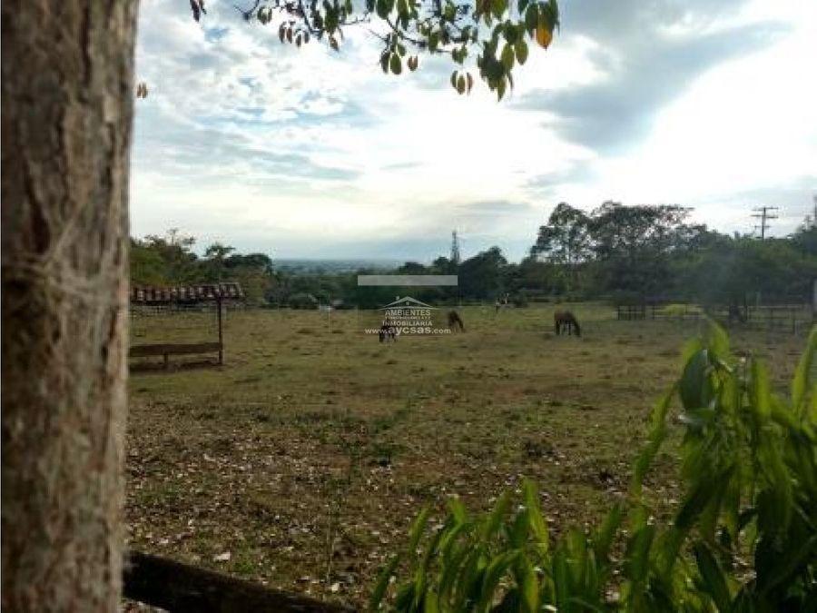 casa campestre en venta palmira el paraiso