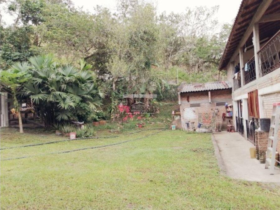 casa campestre en venta en palmira la buitrera