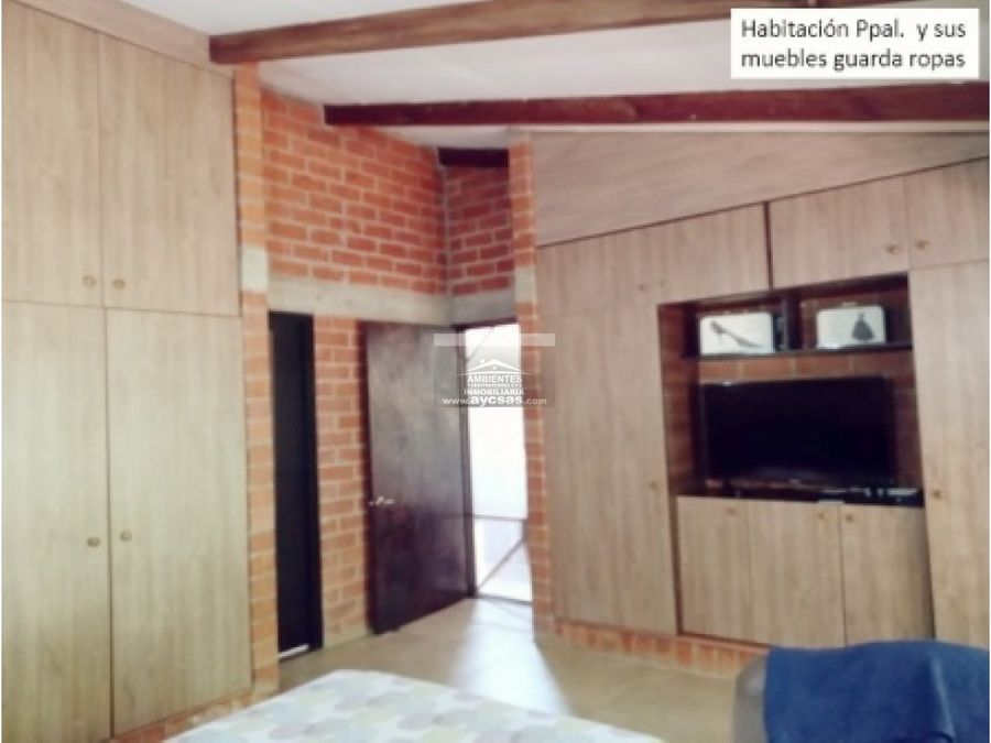 casa en venta en condominio campestre via potrerito jamundi