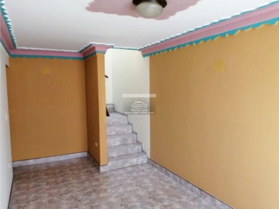 casa en venta palmira barrio las americas 4 pisos