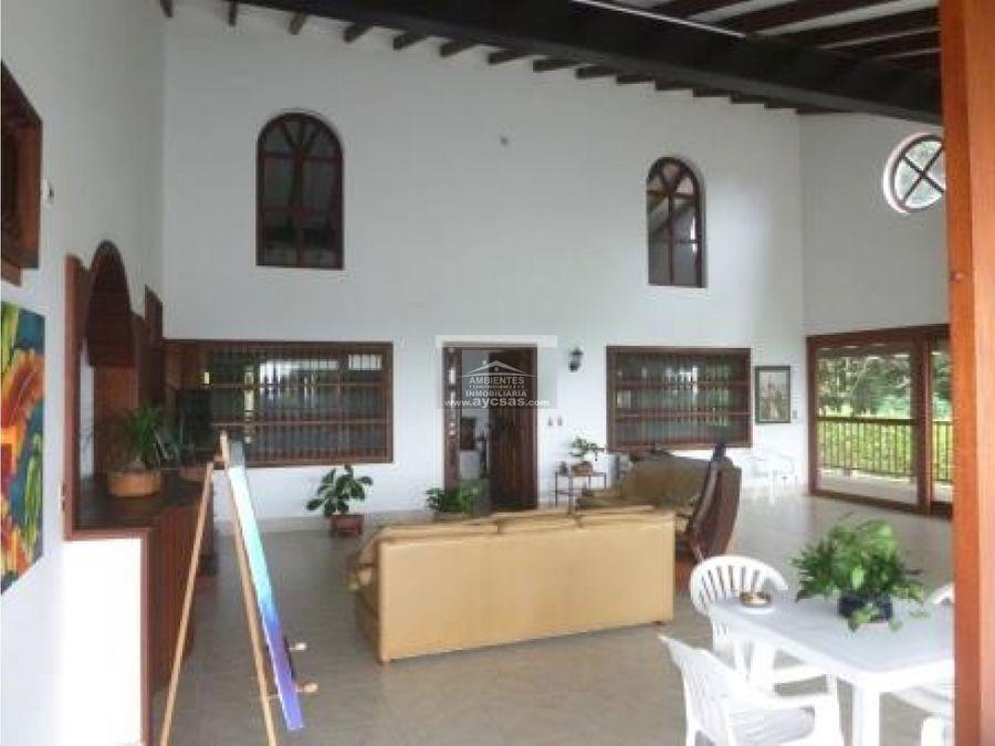 casa campestre en venta santa helena el cerrito