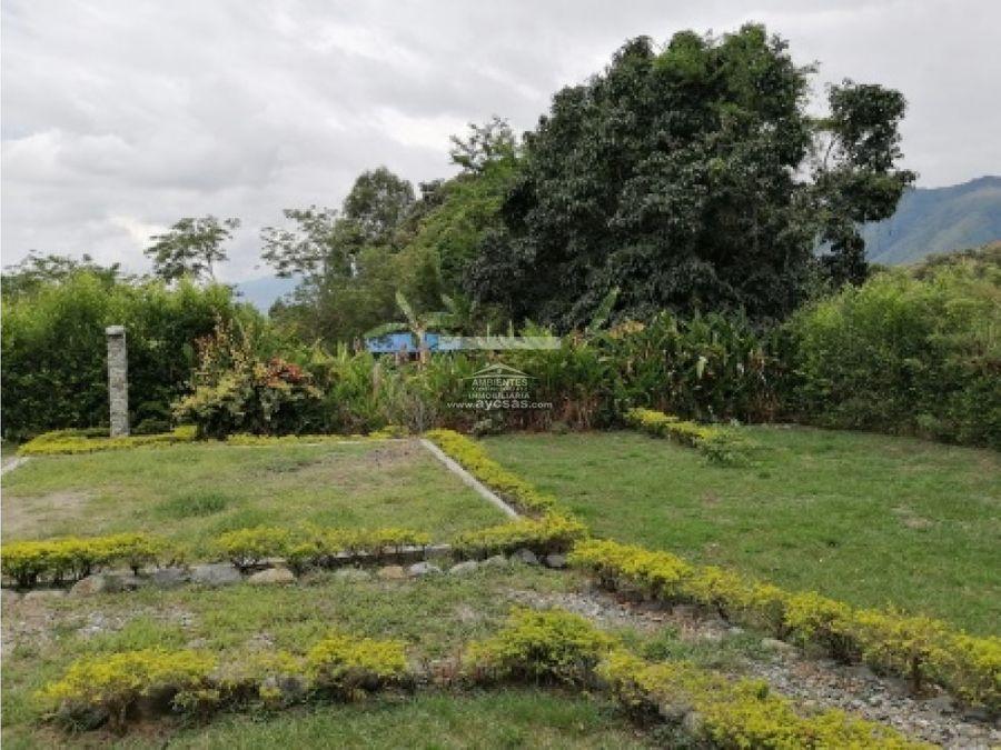 casa campestre en venta en palmira via potrerillo