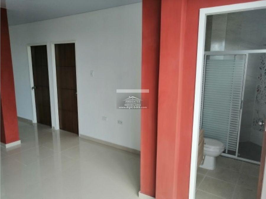 apartamento en venta en palmira barrio san pedro 301