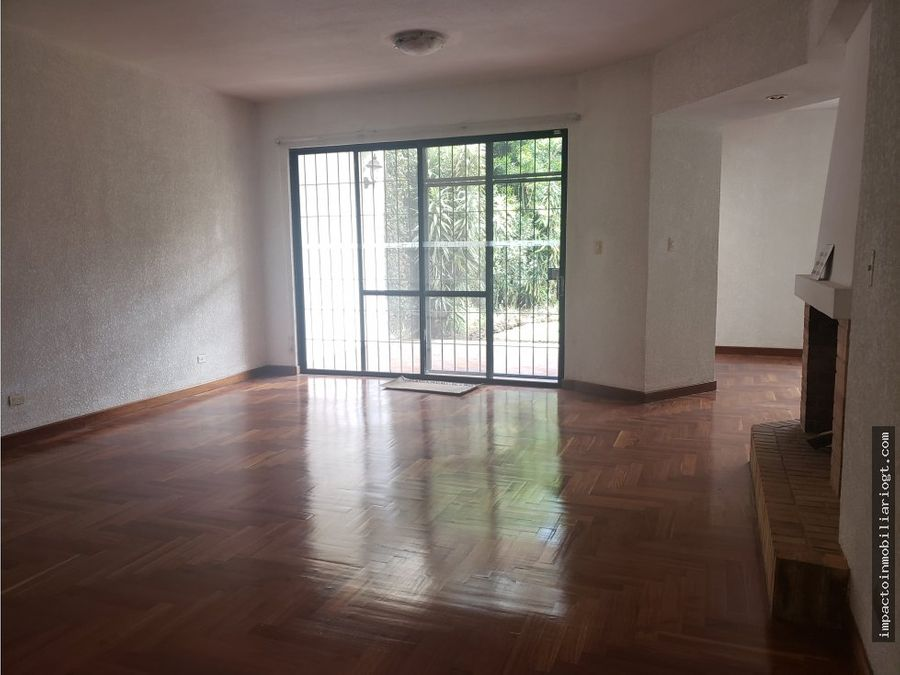 alquiler casa san lazaro zona 15