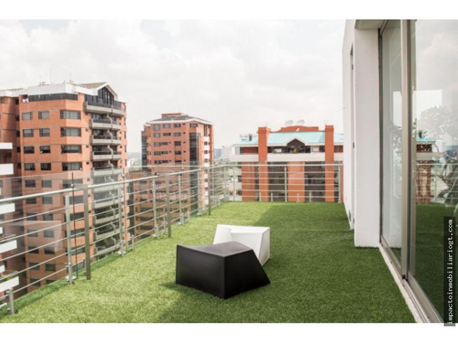 estrene lujoso apartamento en zona 14