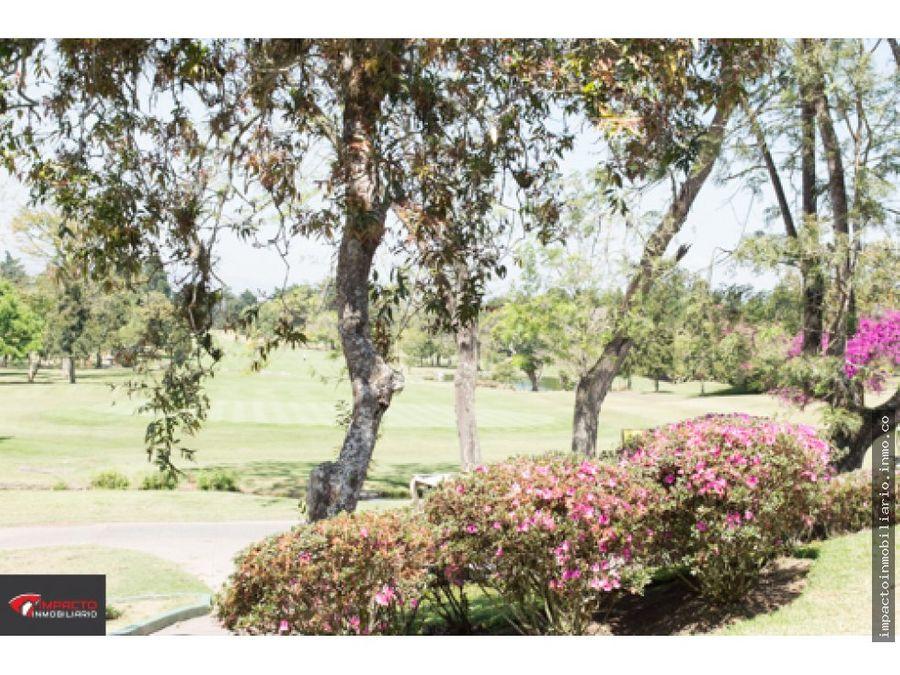 venta terreno club de golf san isidro