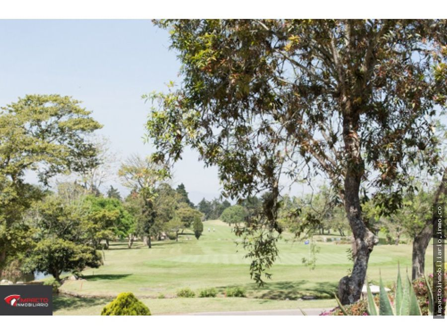 venta terreno club de golf san isidro
