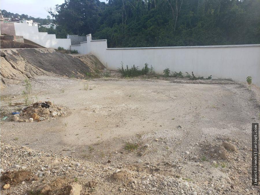 terreno lomas san isidro zona 16
