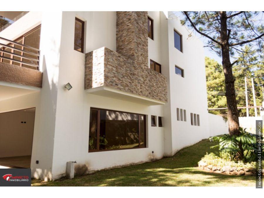 alquiler casa en las cumbres zona 16