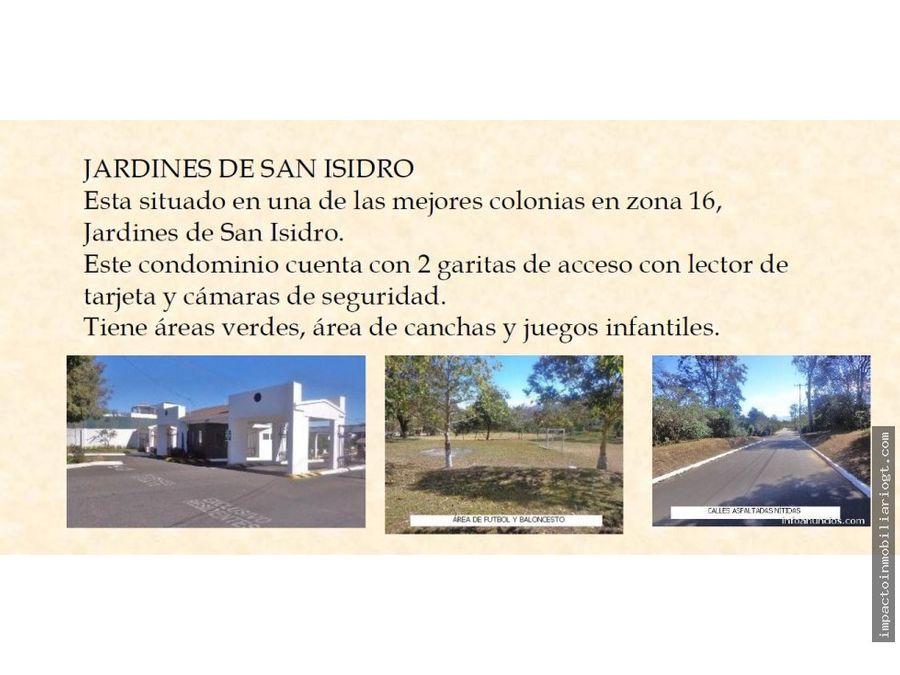 casa en venta jardines de san isidro