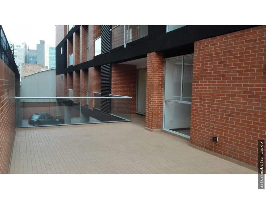venta apartamento chico navarra con terraza
