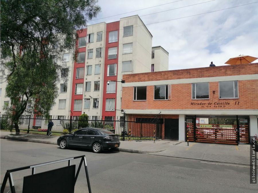 venta apartamento bogota villa alsacia piso 6 45 mts