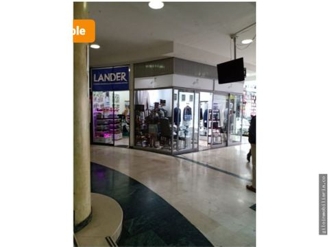 vendo local comercial chapinero en centro comercial