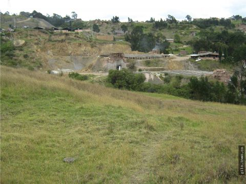 venta lote industrial zipaquira colombia