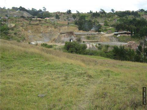 venta lote industrial zipaquira colombia