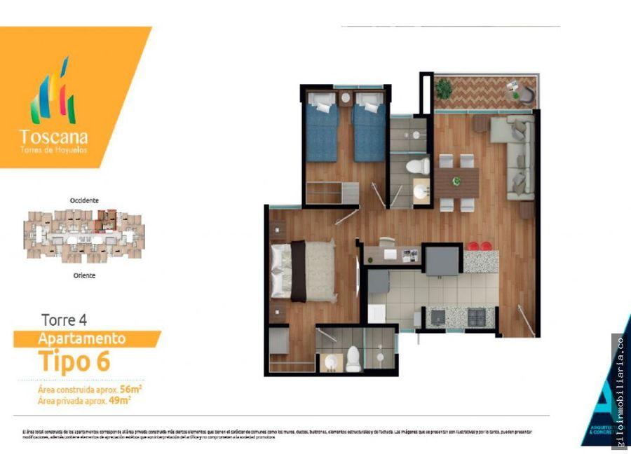 venta proyecto apartamentos en hayuelos