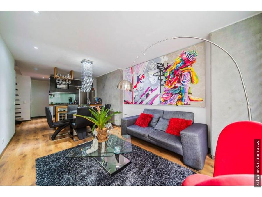 vendo apartamento bogota sta barbara moderno duplex terraza