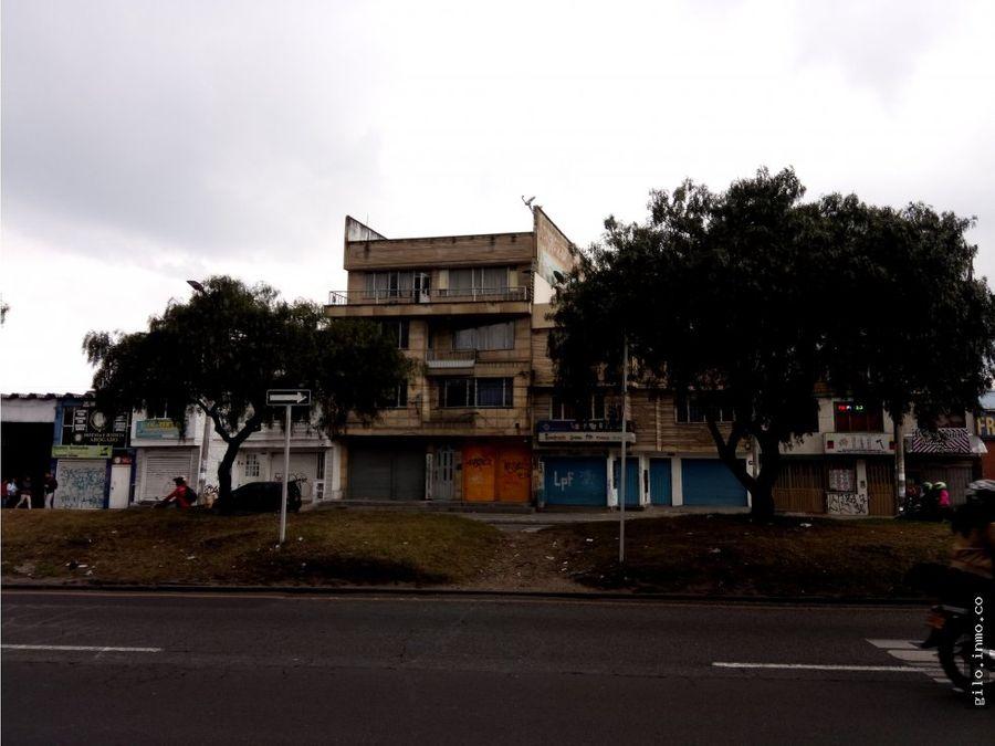vendo edificio en bogota barrio ciudad jardin sur