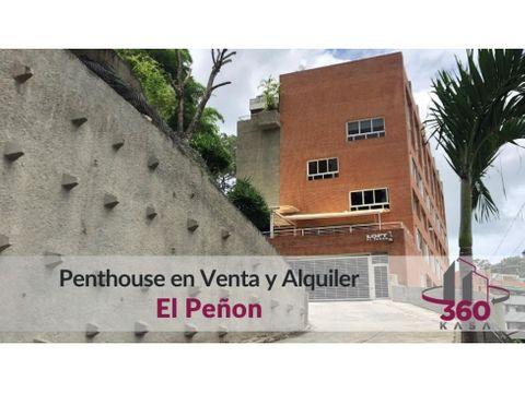 lujoso penthouse en venta y alquiler en el penon