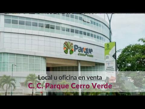 venta oficina en cc parque cerro verde