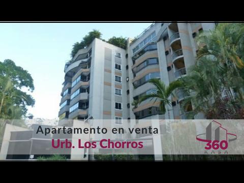venta apartamento en los chorros con terraza y vista al avila