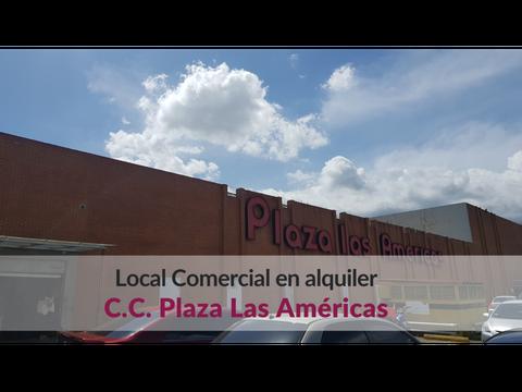 local comercial en esquina para alquilar en plaza las americas