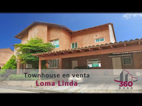 bello townhouse con anexo en loma linda