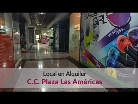 local en alquiler en plaza las americas nivel cristal 3 30