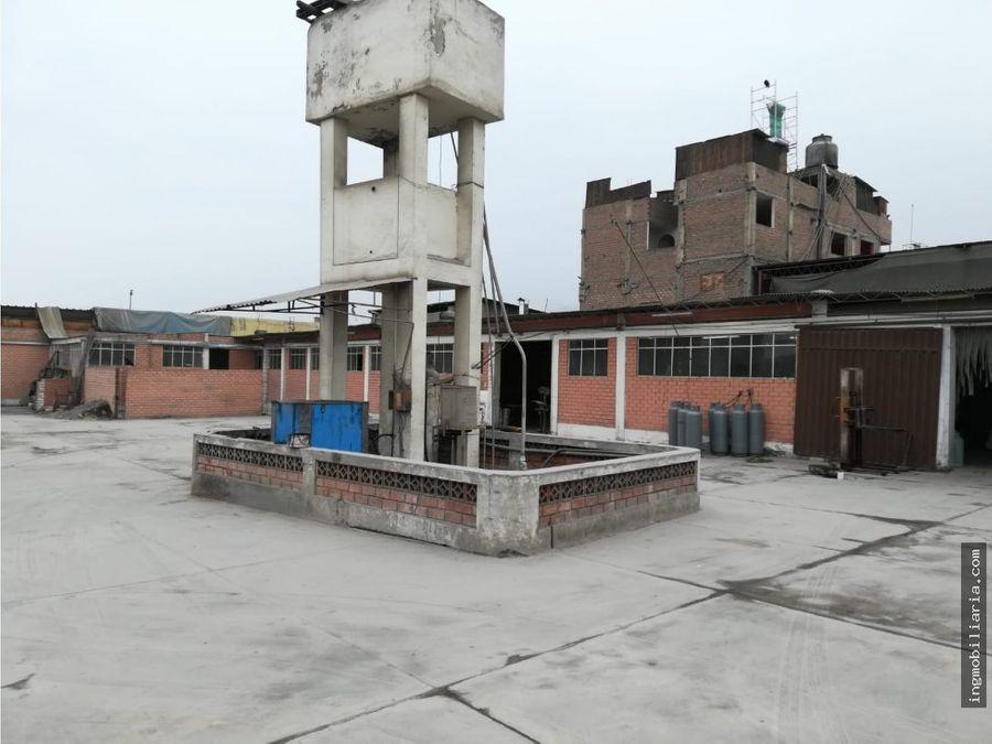 vendo local industrial terreno ate