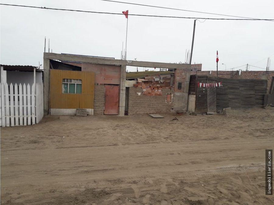 terreno en venta para casa de playa ventanilla