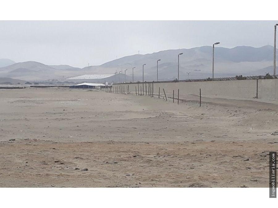 venta de amplio terreno en chilca