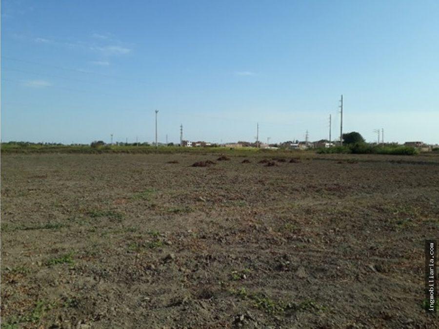 venta de terreno urbano en lambayeque