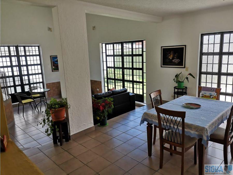 casa en venta montecristo con jardin grande