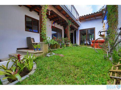 casa equipada en renta antigua guatemala