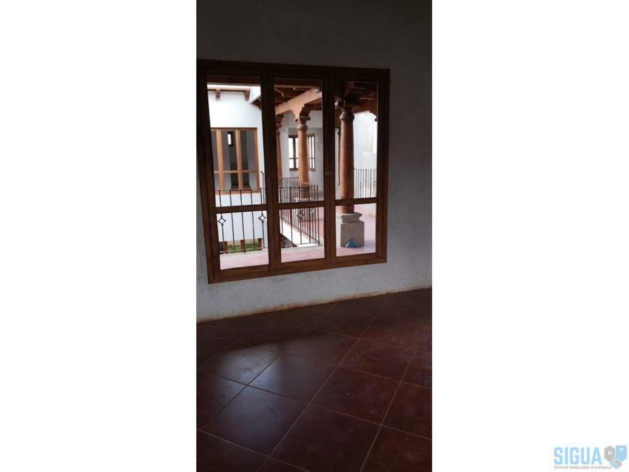 casa en venta antigua guatemala cond serenisima