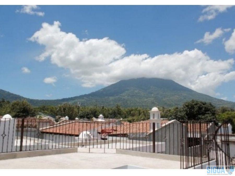 venta casa la antigua guatemala la serenisima