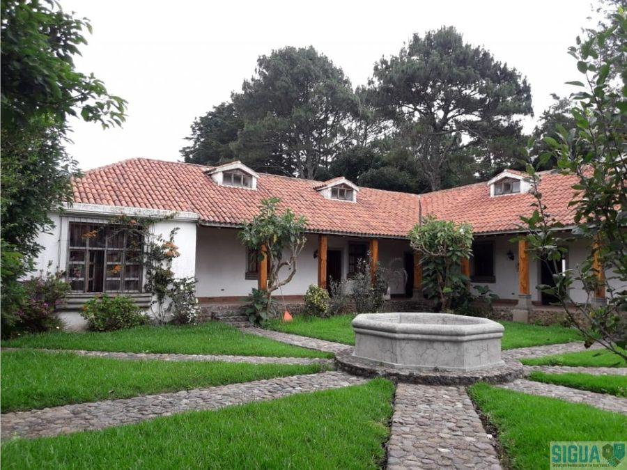 casa campestre villas del pinar ces