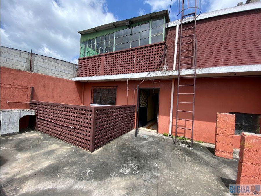 casa dentro de garita en venta montserrat 1 zona 4 de mixco