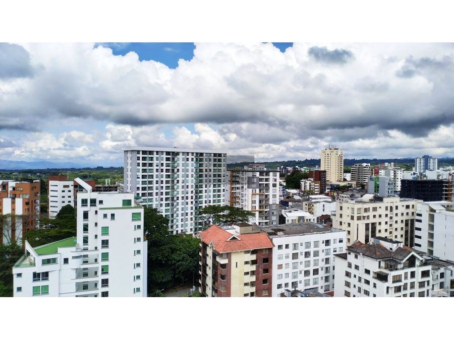 apartamento 3 alcobas 146m2 espectacular vista armenia norte prive