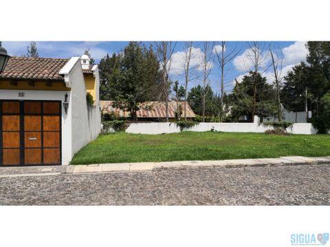 casa en venta ant guatemala refugio del angel