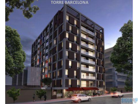 apartamento en venta zona 9 torre barcelona
